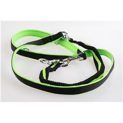 Hunting leash with amortizer