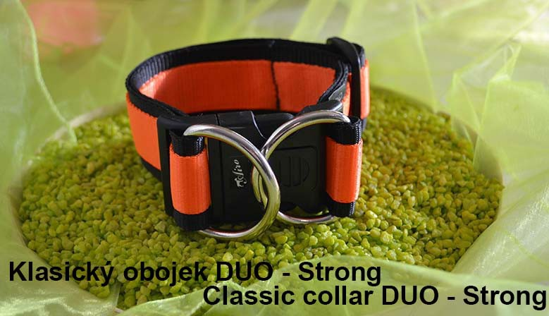 Klasický obojek DUO - Strong